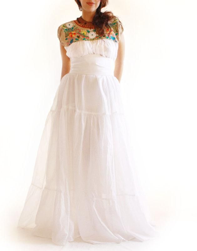 Handmade Mexican embroidered dresses and vintage treasures from Aida ...
