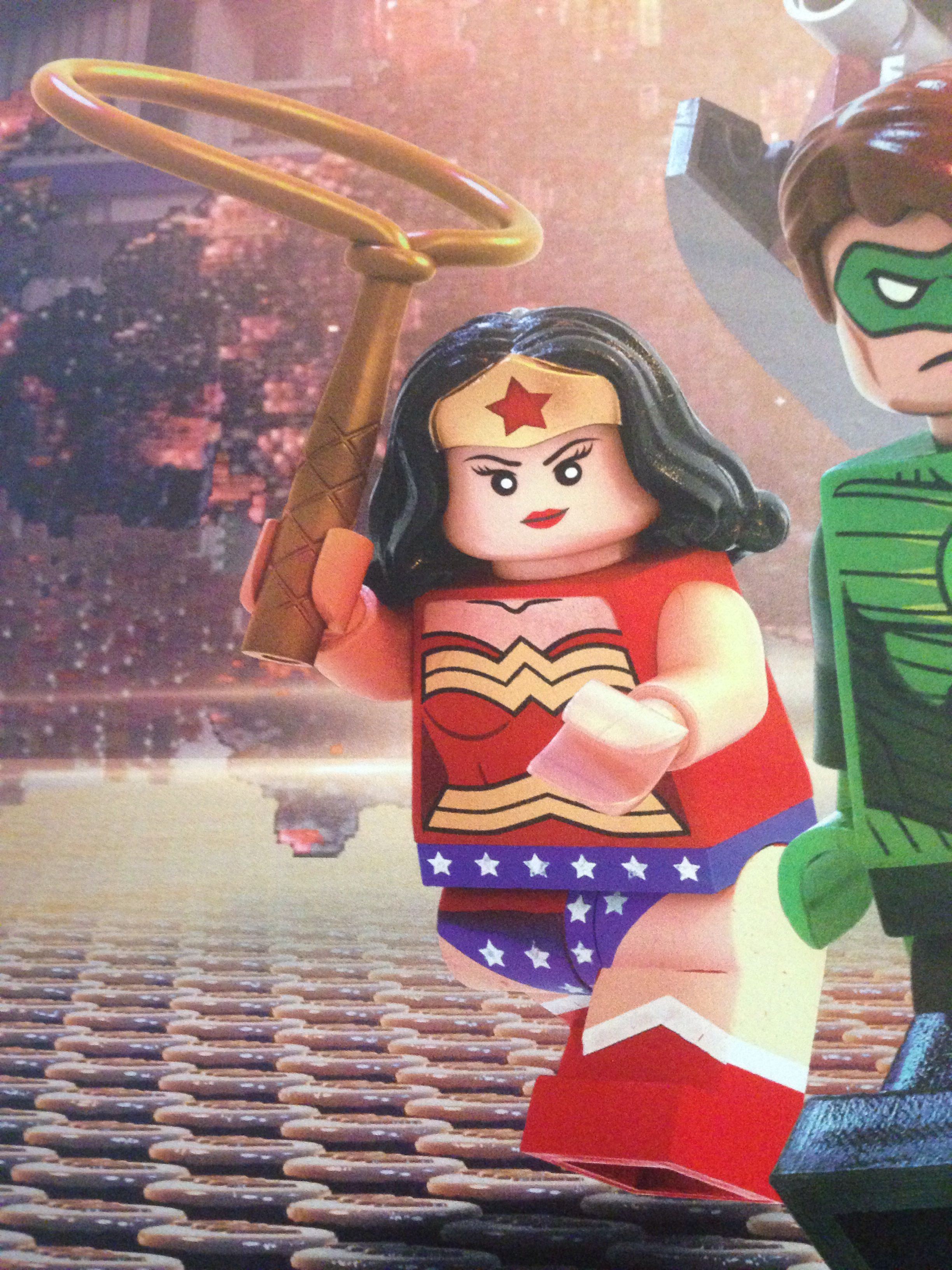 Wonder Woman in The Lego Movie | Comics | Pinterest