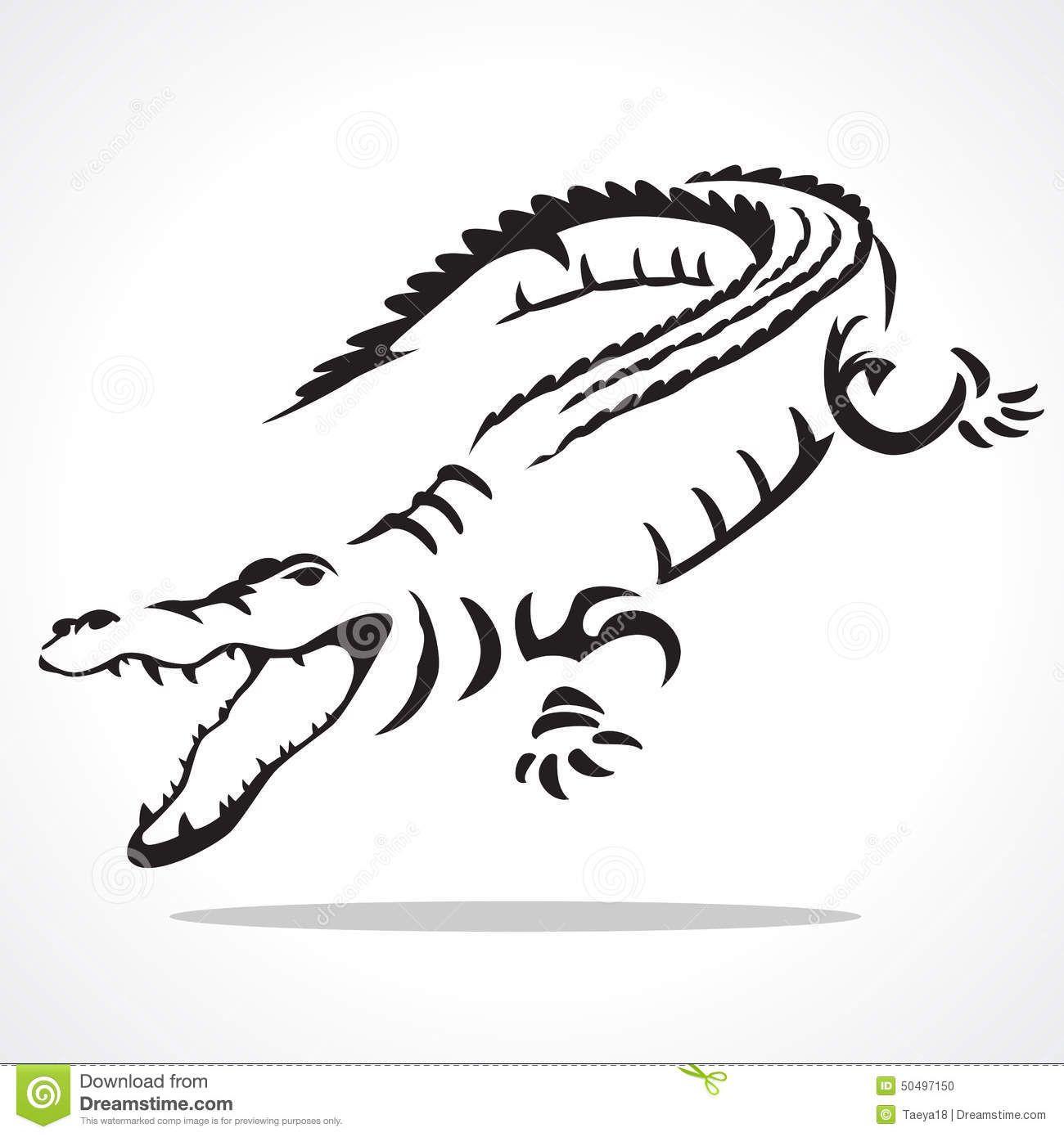 9ab3a1039eddb tribal/real | Tattoos | Crocodile tattoo, Alligator tattoo, Crocodile