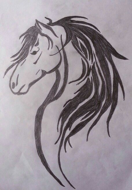 Horse Head Tattoo Design Tattoos Tattoos Tattoo Drawings