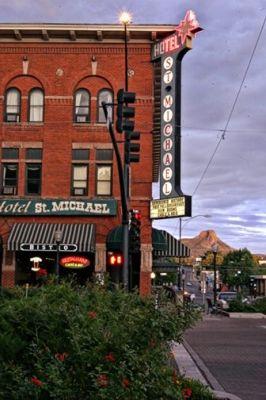 Downtown Prescott Arizona I Love This Historic Hotel Right On Whiskey Row Definitely A