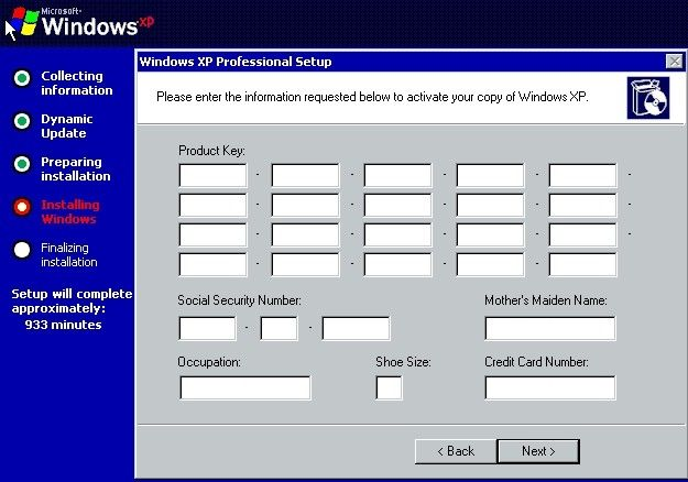 Funny Error Do You Have Problems With Funny Windows Error Messages Creator Error Message Credit Card Numbers Messages