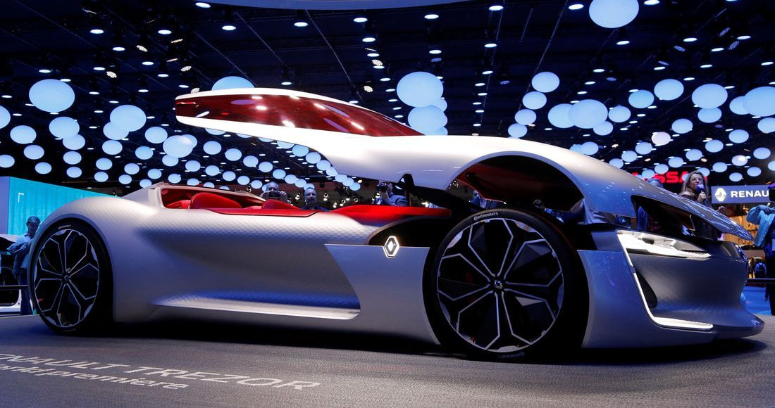 2019 Renault Trezor Gt Concept Car Luxury Carswithoutlimits