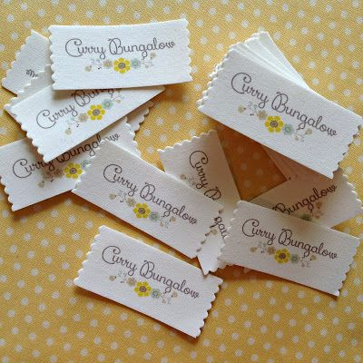 Tutorial for making your own iron-on fabric labels - T in the Burg