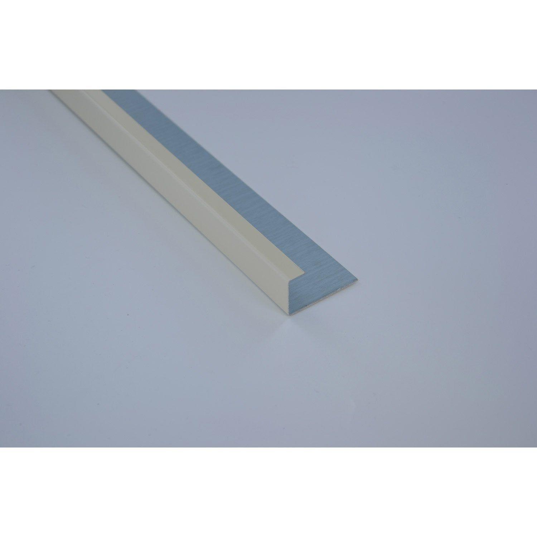 Profil De Finition Aluminium 24 X 45 Scover Plus Beige L 2 M Beige Et Profil