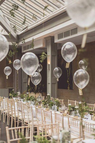 Hochzeitsdekorationen mit Luftballons – Ideen zum Abheben am grossen Tag #dinnerideas2019