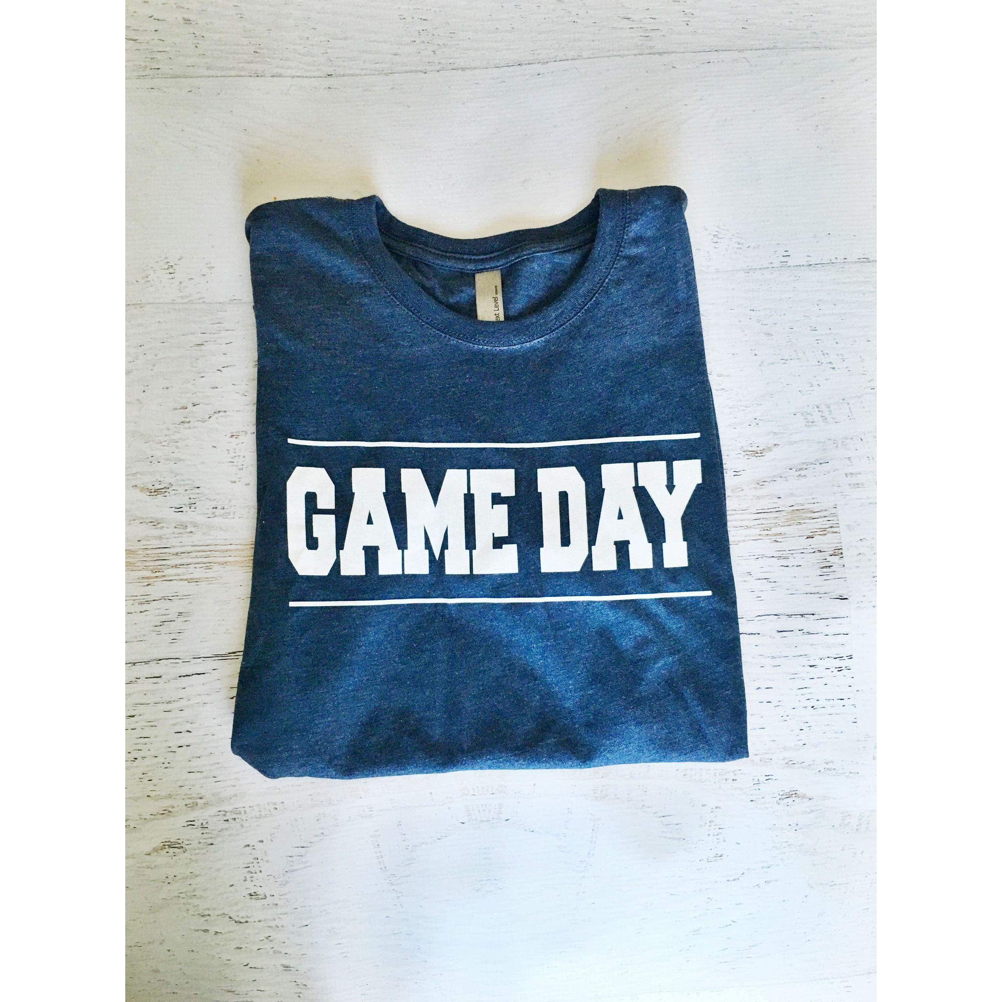 Gameday crew neck tee