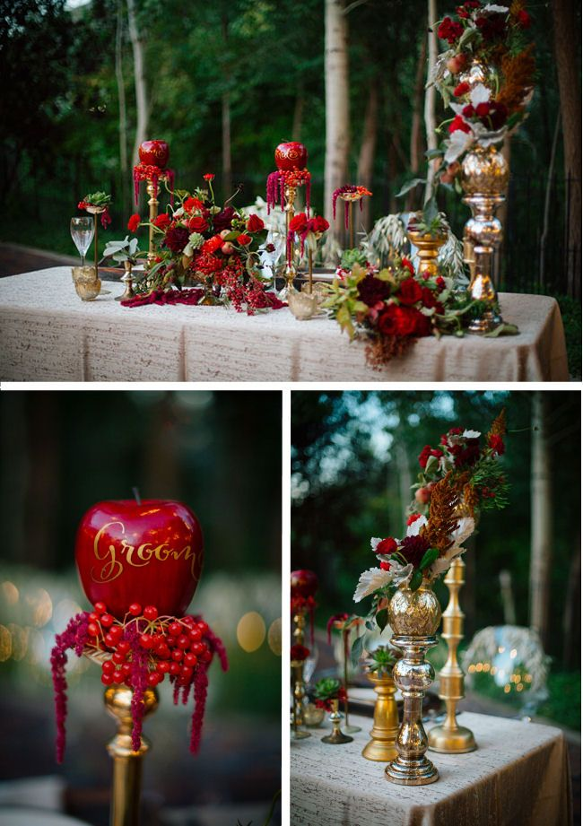 A Truly Enchanting Snow White Themed Styled Shoot | SNOW WHITE ...
