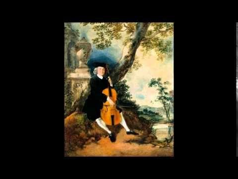 C.P.E. Bach Cello Concerto No.1 in A minor Wq 160 - YouTube