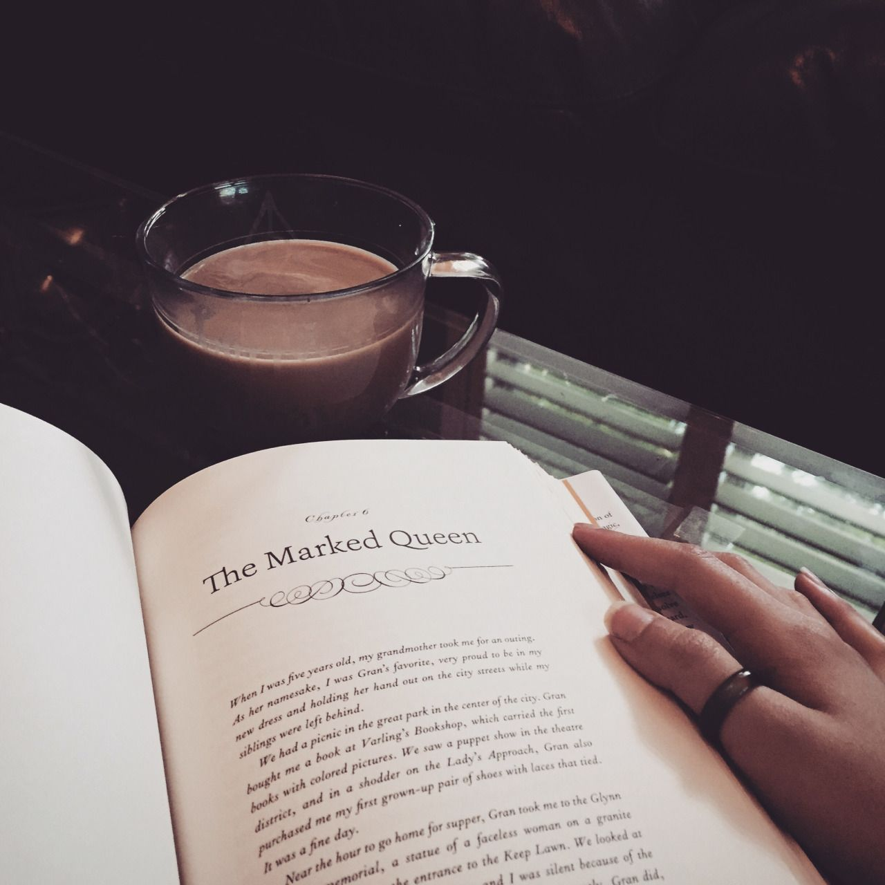 Her Dearest Friends Were Characters In Books Photo Book Photography Coffee And Books Book Aesthetic