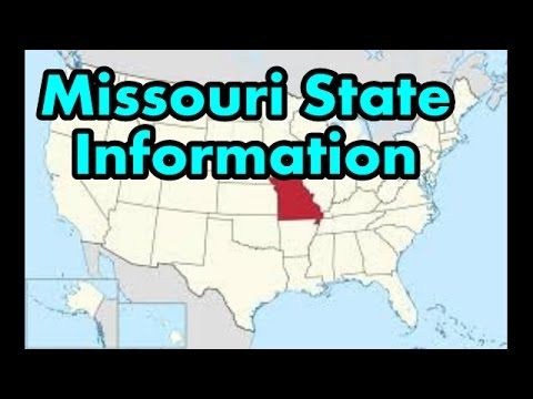 Missouri State Information Crime  Stats, etc