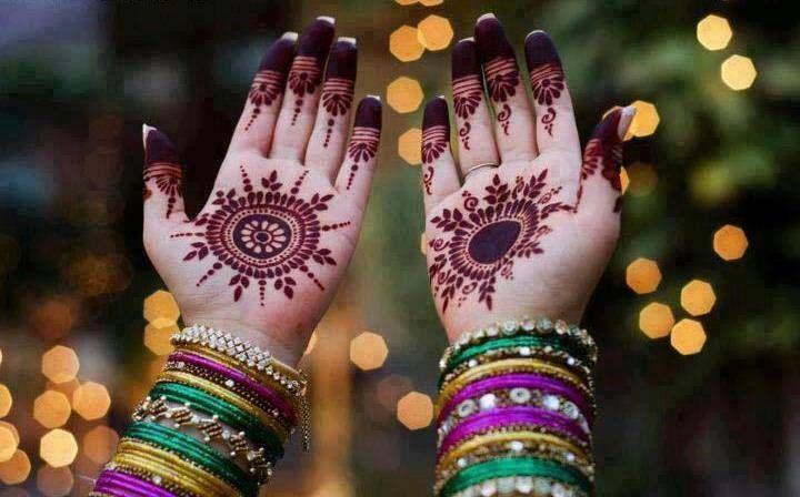 Modern Arabic Mehndi Designs 2014 : Beautiful pakistani & indian bridal mehndi newstylevogue 7 my