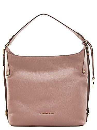 2351b5a8783d MICHAEL Michael Kors Bedford Belted Large Shoulder Bag (Dusty Rose) -- Want  additional info  Click on the image.