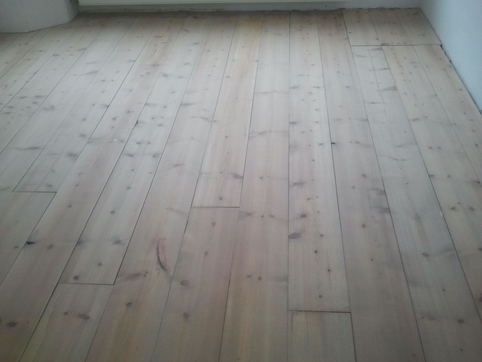Grenen planken vloer geolied met monocoat sky grey youtube