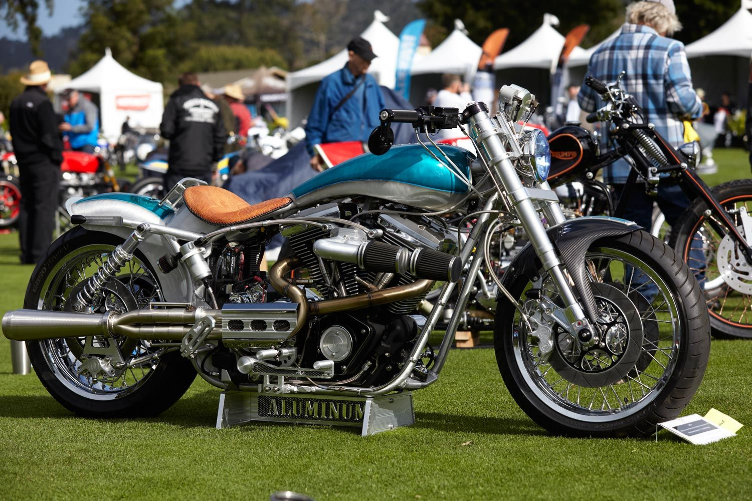 This year s Quail Motorcycle Gathering presented by GEICO Motorcycle