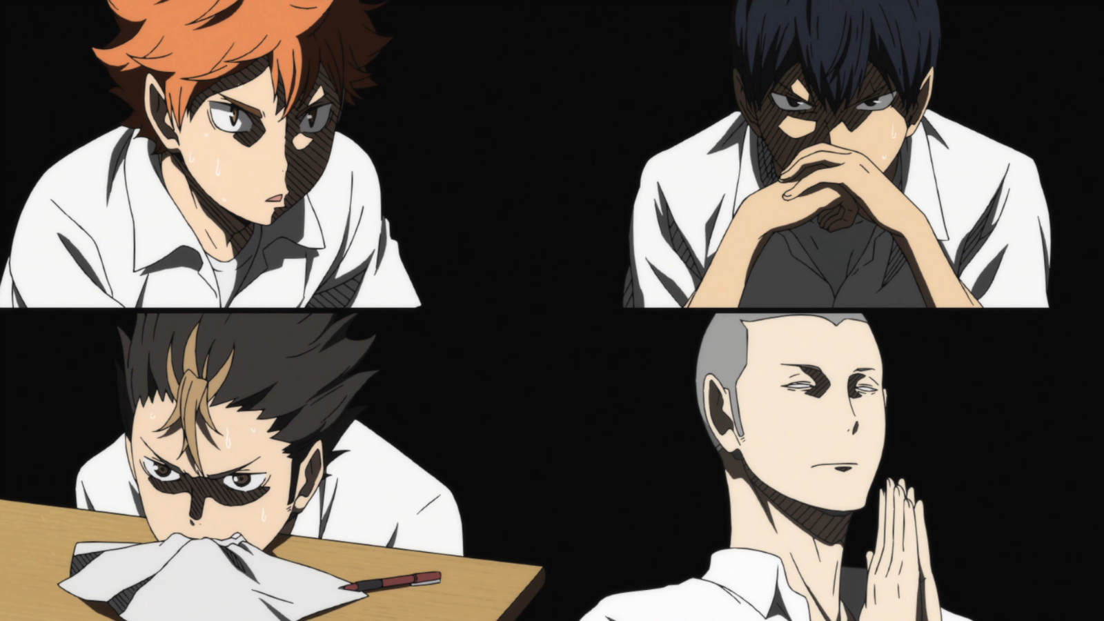Image result for haikyuu test gif