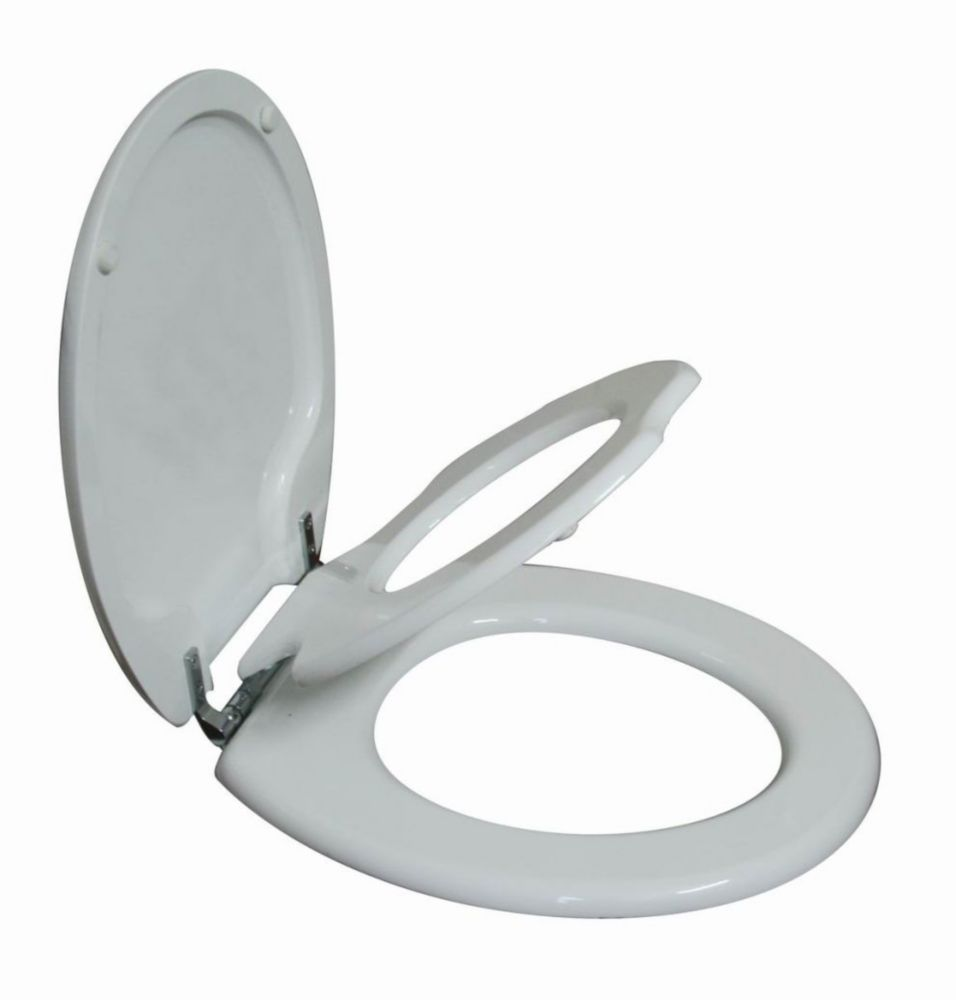 Tinyhiney Round Child And Adult 2 In 1 Regular Lid Close Chrome