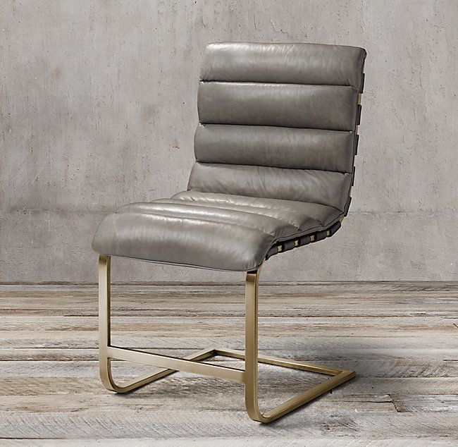 Marvelous Oviedo Leather Side Chair Dining Chairs Leather Dining Creativecarmelina Interior Chair Design Creativecarmelinacom