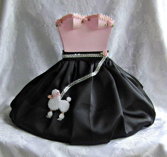 50s Poodle Skirt Centerpiece Original Design By Apreciousmemory 2500