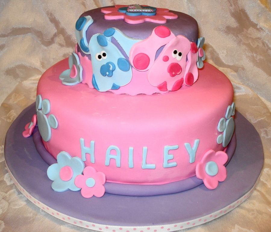 Blue And Magenta With Images Childrens Birthday Cakes Blue