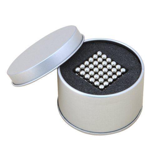 NeoCube – Cube magique composé de 216 billes magnétiques en néodyme – Coffret cadeau en métal | Your #1 Source for Toys and Games