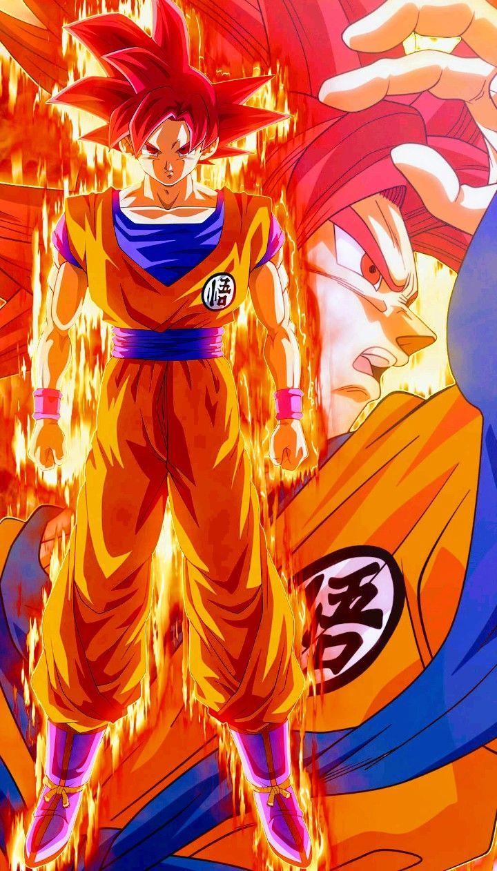 Goku Super Saiyan God Dragon Ball Super Ball Dragon God Goku Saiyan Super Personajes De Dragon Ball Dragones Personajes De Goku