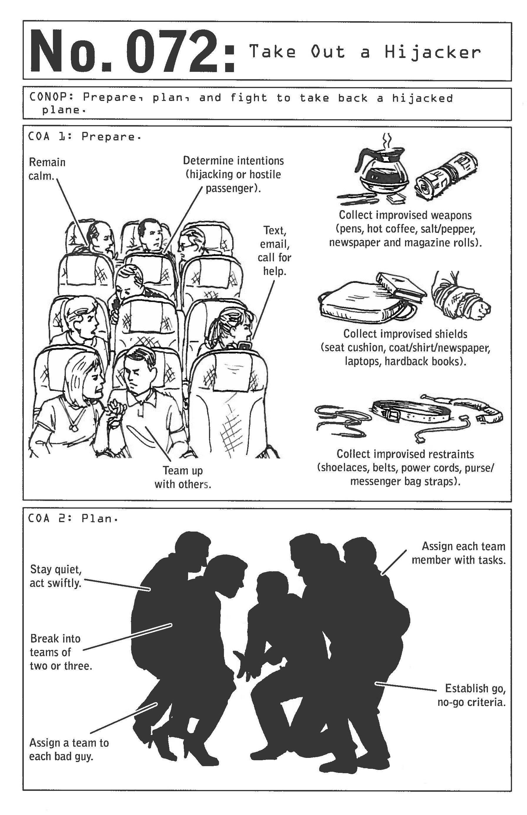 100 deadly skills skill 72 take out a hijacker survive 100 deadly skills skill 72 take out a hijacker