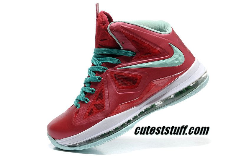sports shoes 62d91 85ca6 Nike Basketball Lebron 10 Shoes PS Christmas 541100 600 Need these!!