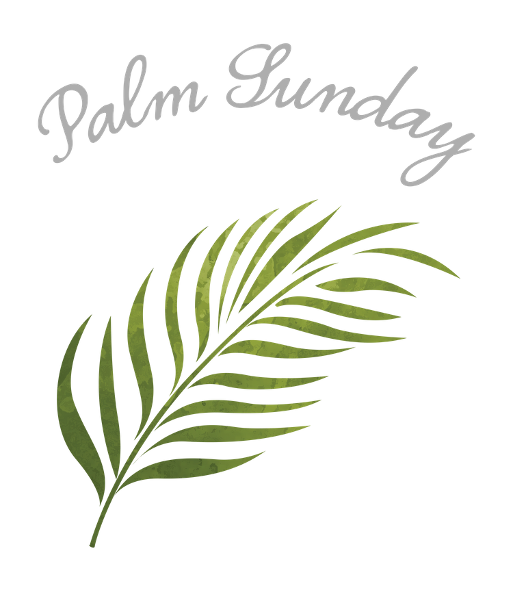 Palm Sunday Leaf Coffee Mug by thewishdesigns