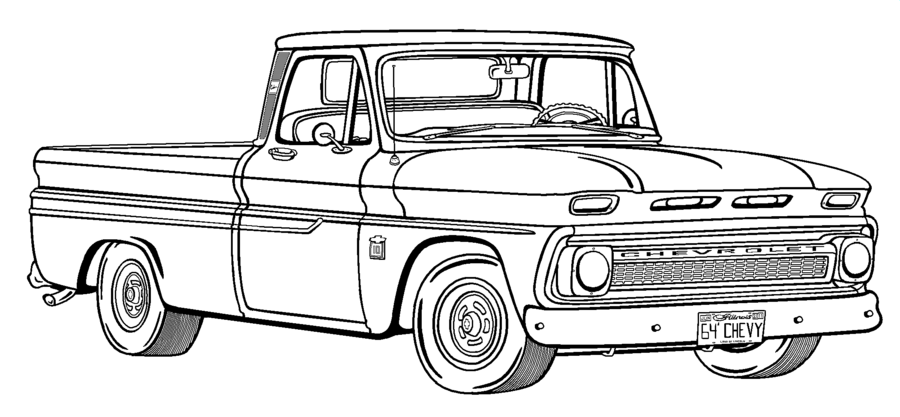 24++ Chevy truck colouring pages ideas in 2021