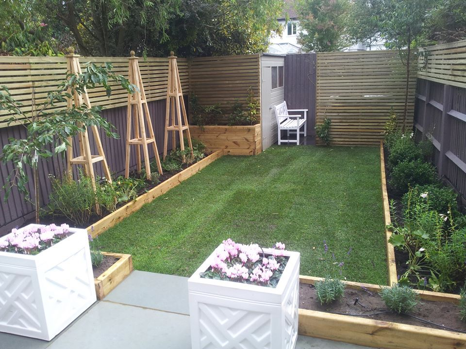 London garden design Honeybrook road | Back garden design ...