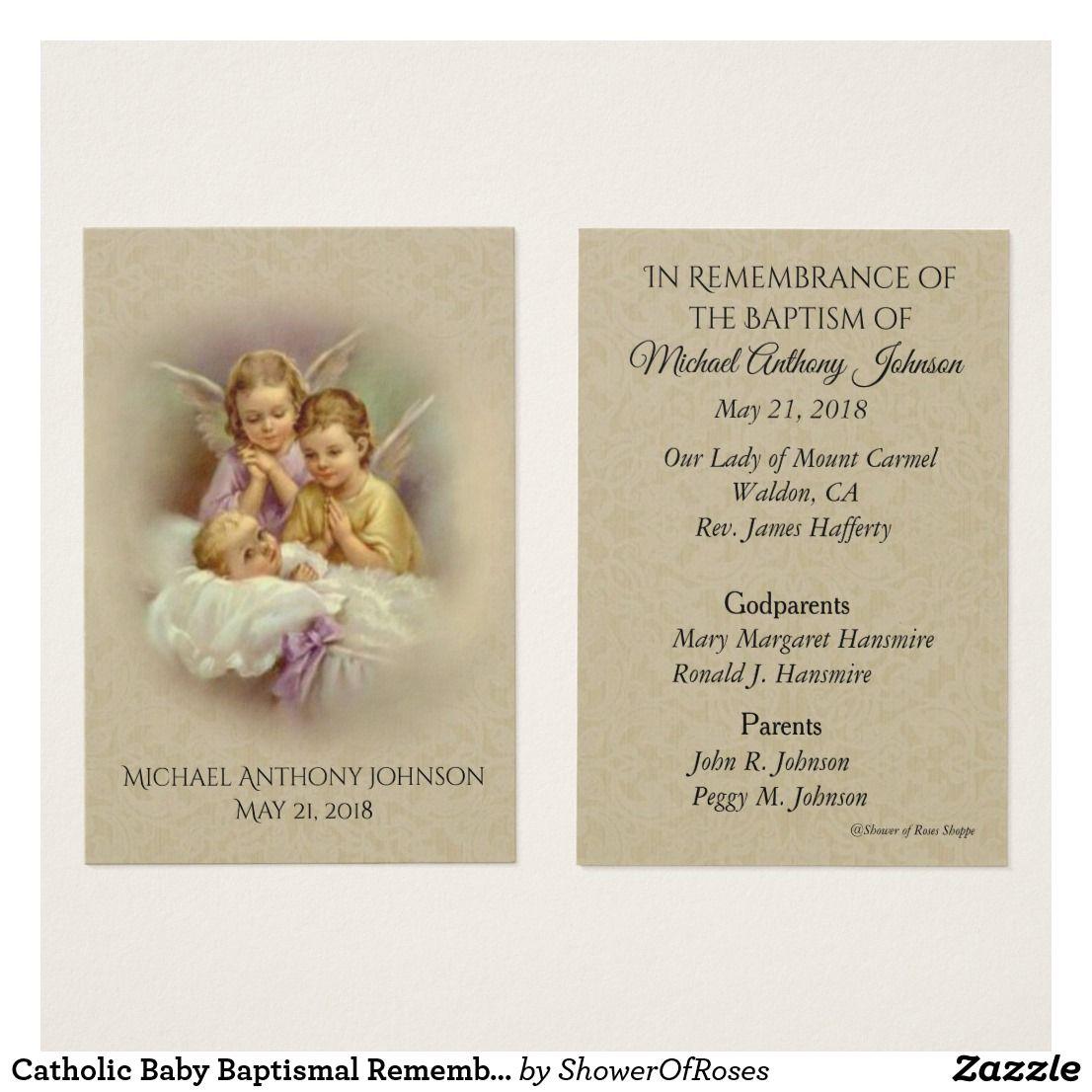 Catholic baby baptismal remembrance lace holy card traditional catholic baby baptismal remembrance lace holy card m4hsunfo