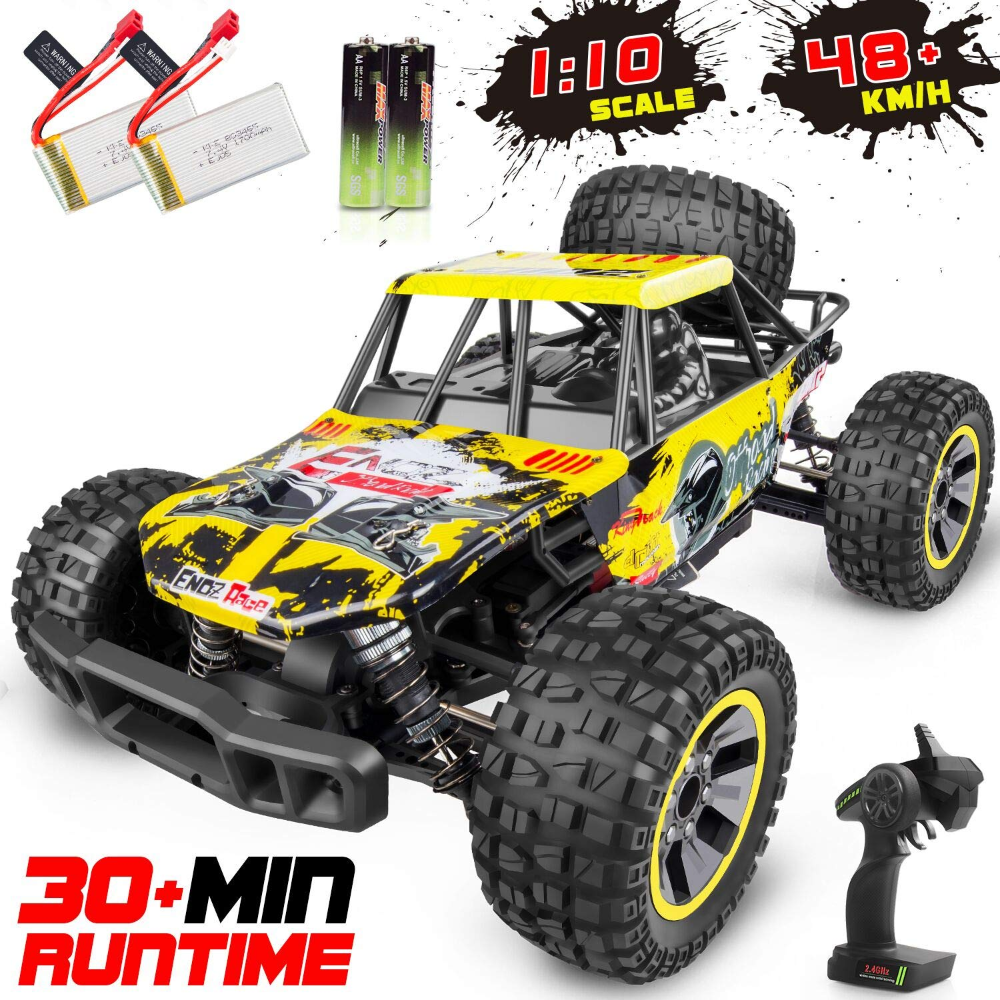 Azoplaza Com Whimswit Remote Control Car 1 10 Large Scale Electric Rc Car Off Road Monster Truck With High Speed 48km H Wide Range 100m 2 4ghz 4wd Anti Coll Monster Trucks Remote Control Cars Rc