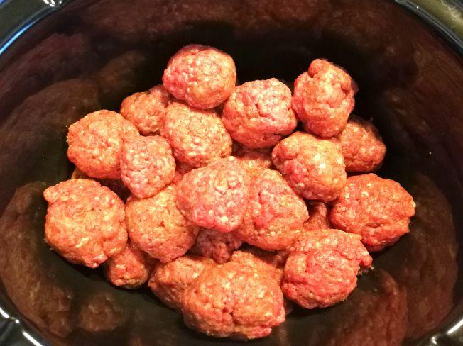köttbullar crock pot