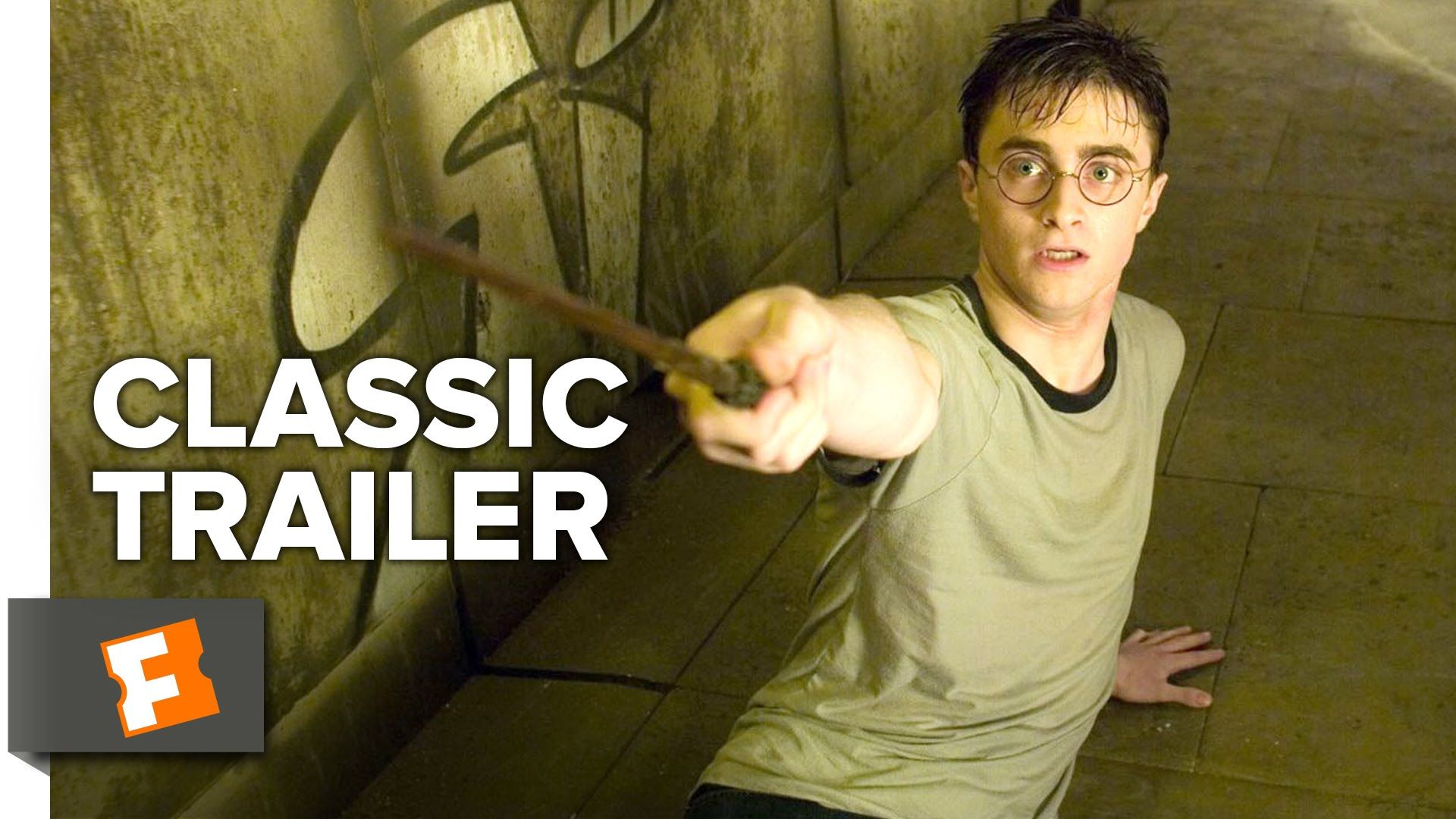 Harry Potter And The Order Of The Phoenix 2007 Official Trailer Daniel Radcliffe Movie Hd Y Daniel Radcliffe Movies Harry Potter Trailer Daniel Radcliffe