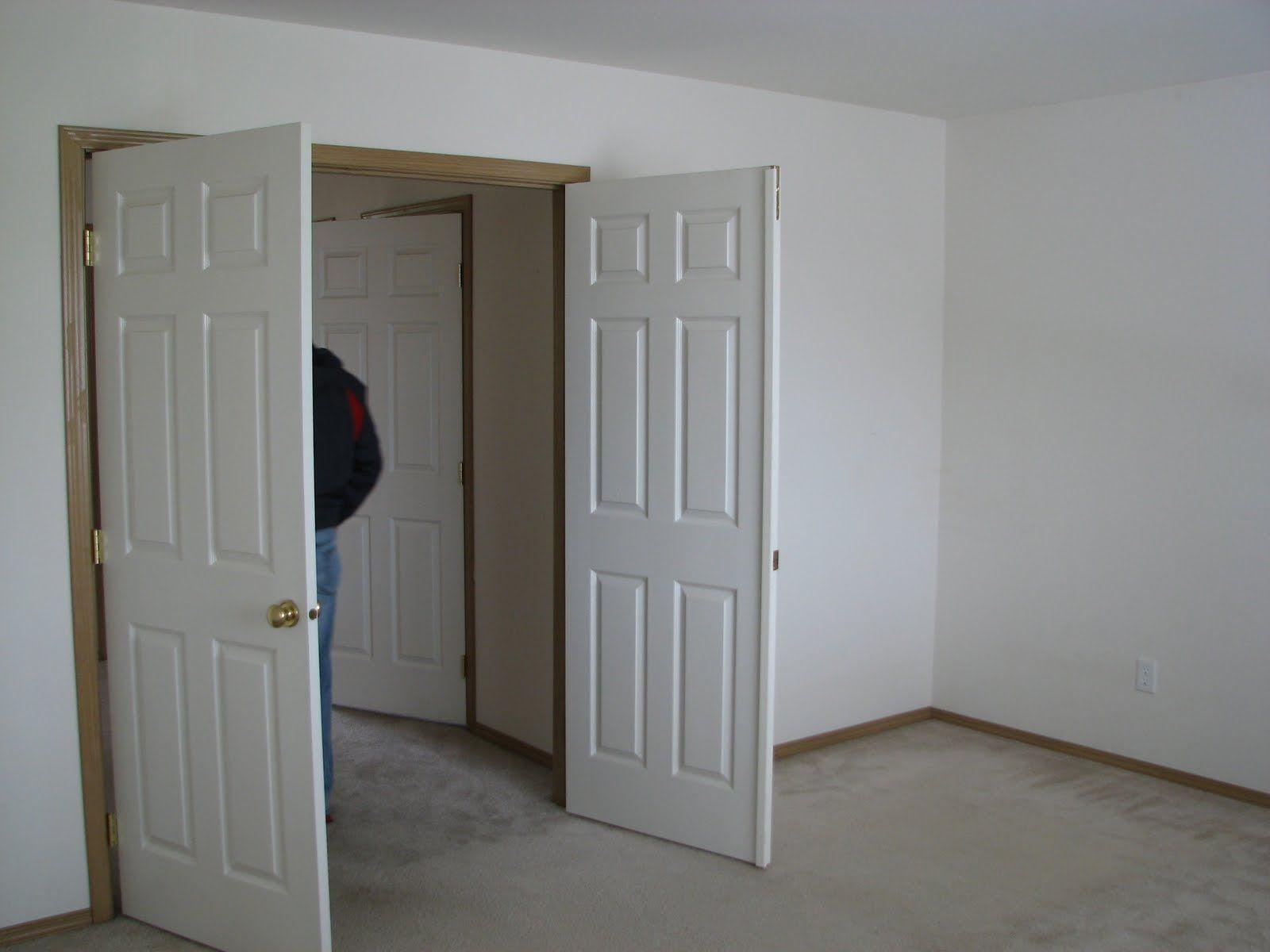 Double doors into bedroom commedesgarconsmademoiselle