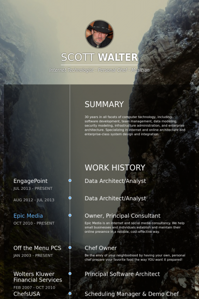 a list of resume samples and templates for you to browse  providing inspiration for your own