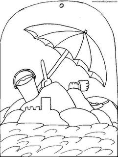 Dibujos Para Colorear Del Verano Dibujos Paginas Para Colorear