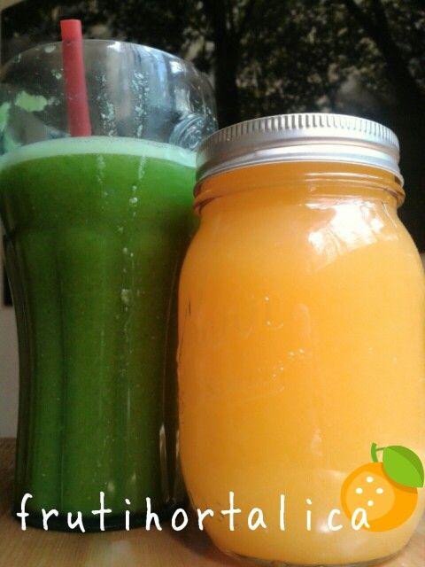 Detox, jugo verde Jugo de naranja Piña Apio Perejil Chia Antioxidante, quemagrasa, Energia  ideal contra estreñimiento Revitalizante