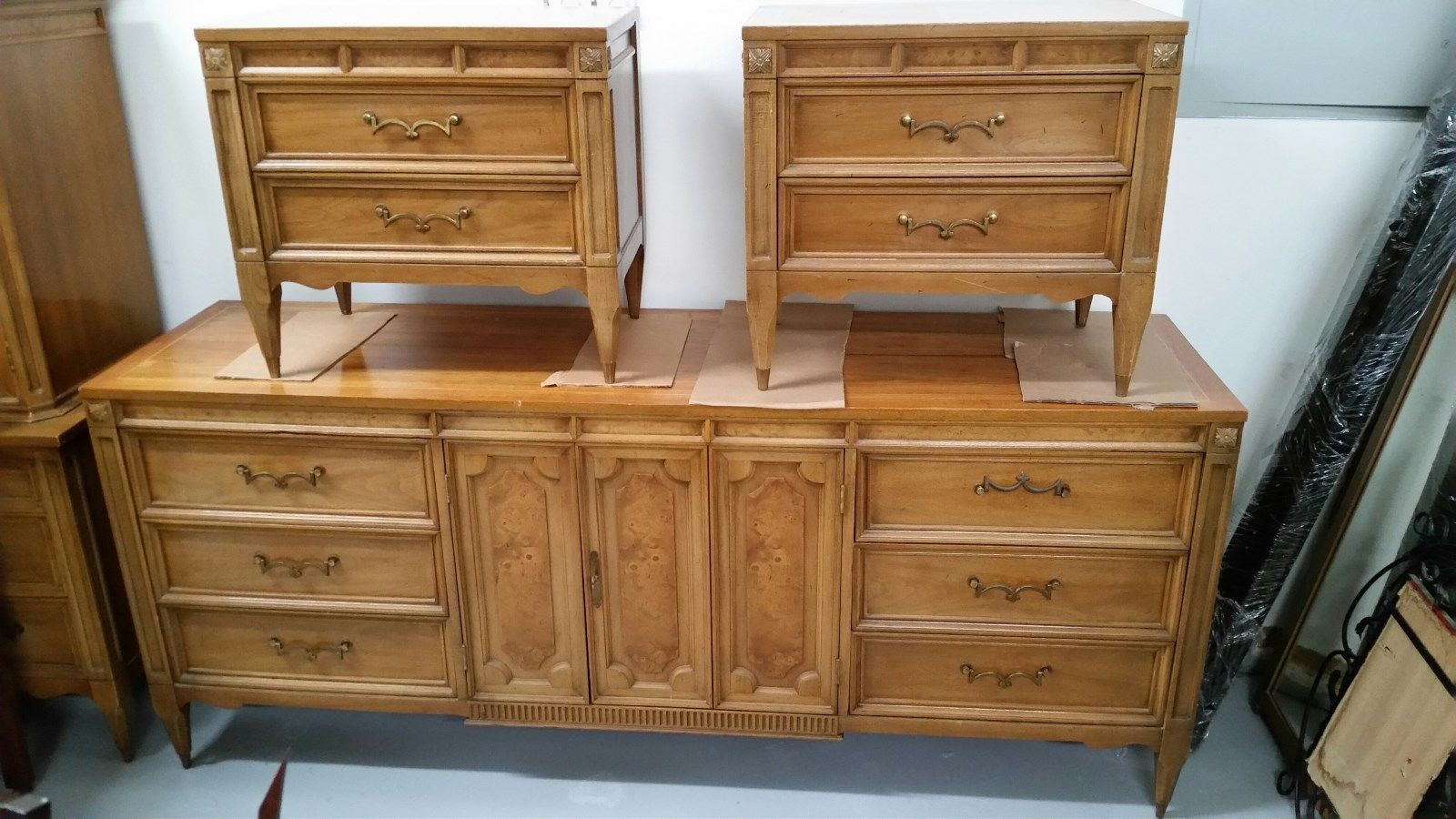 American Of Martinsville Mid Century Bedroom Furniture Set 6