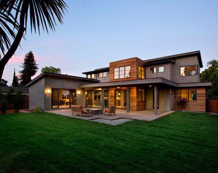 20 foto degli esterni di case moderne dal design for Architettura case moderne idee