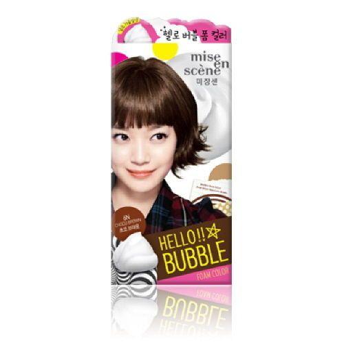 Mise En Scene Hello Bubble Hair Dye Series Self Dyeing Ombre