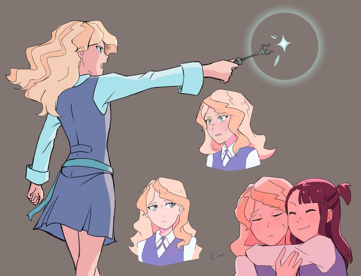 Slappy Cat™🔪 (staticteeth) Twitter Anime witch