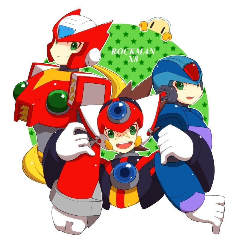 Megaman X Zero Axl Buscar Con Google Anime Images Anime Mega Man