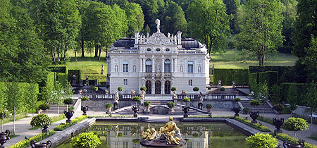Schloss Linderhof Schloss Linderhof Linderhof Hof