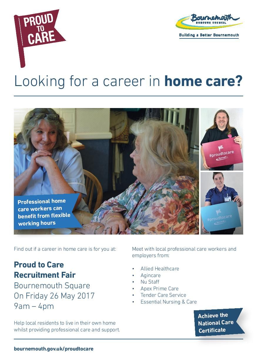 Looking for a career in home care? Home care, Care, Career