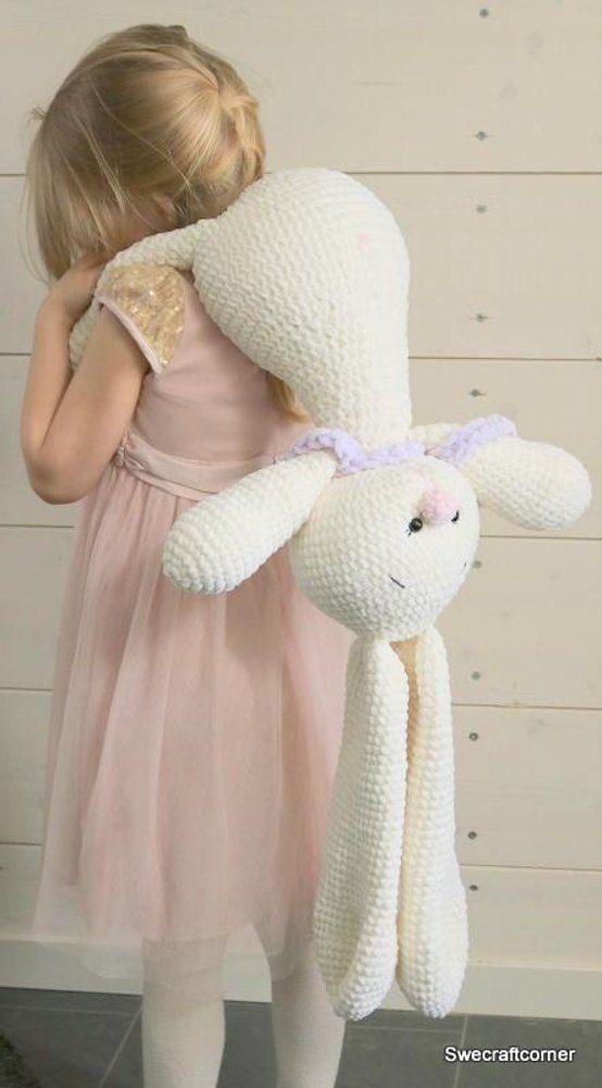 Emilia Bunny | Crochet > Cuties ♡°♡ | Pinterest | Ganchillo ...