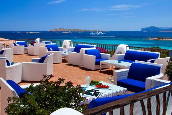 Bar Ginepro Hotel Romazzino Costa Smeralda Sardinia