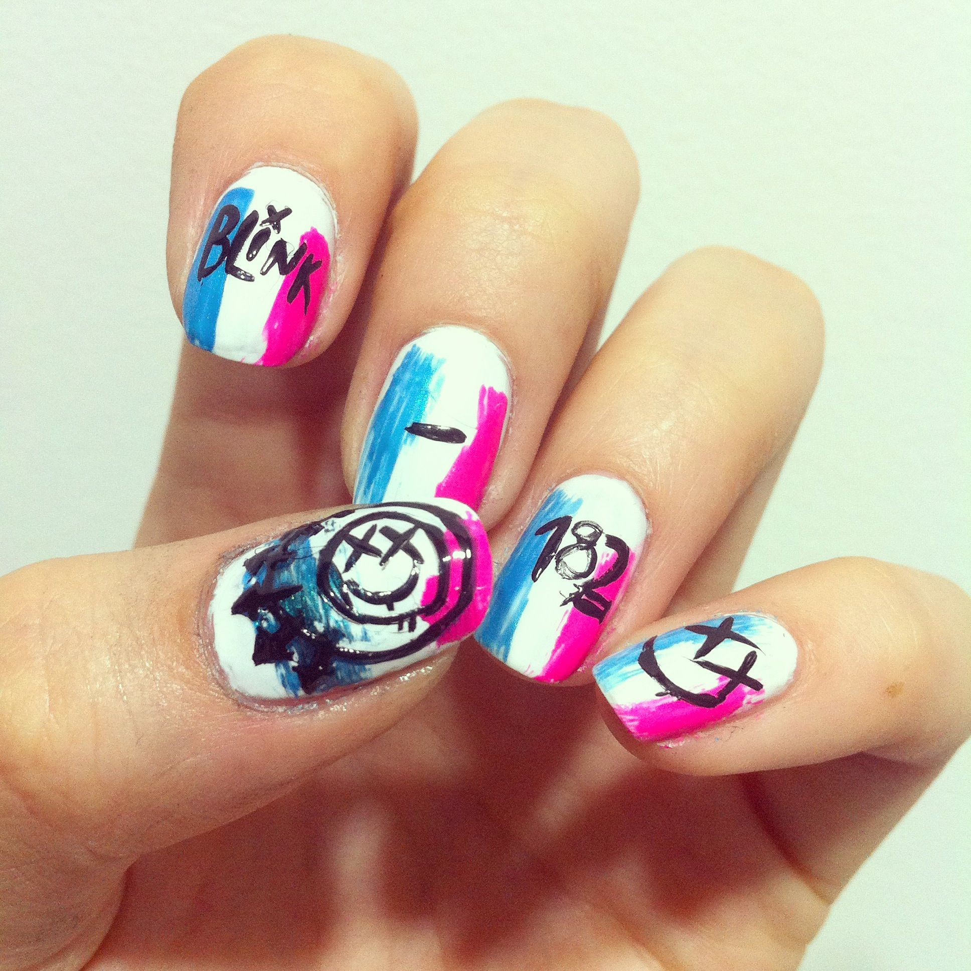 Nail Art Inspired By Famous Album Covers Fingernail Fun