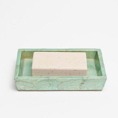 Andria Soap Dish - Smoke - Frontgate